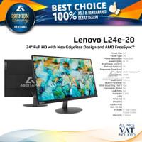 Monitor LED Lenovo L24E L24E-20 24 1080p VGA HDMI Freesync
