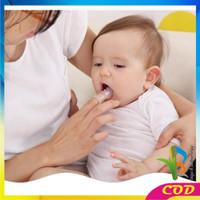RB-C41 Sikat Gigi Jari Bayi Bahan Silikon Lembut Pack OPP Pembersih