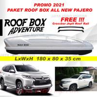Roofbox Roof Box 600L Bagasi atas mobil 1 Paket All new Pajero