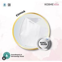 MS Glow - 1 Pcs Masker Kosme Mask Fitmask Nano Silver Masker Kesehatan