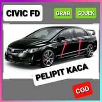 Karet Pelipit Kaca Samping Honda Civic FD set