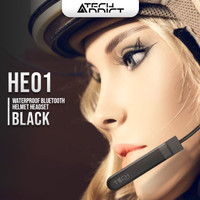 Techaddict Bluetooth Helmet Headset - HE01