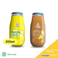 PAKET ISI 2 Mujigae Banana Milk Ori + Banana Milk Chocolate 250 mL