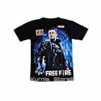 fashion pria fashion anak baju/kaos free fire chrono CR7