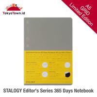 Stalogy 365 Days Notebook Limited Edition A5 - Stone Gray