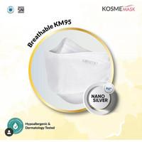 MS Glow - 1 Pcs Masker Kosme Mask Nano Silver Masker Kesehatan KM95
