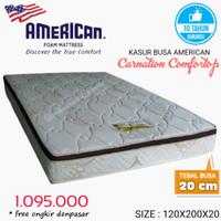 Kasur busa merk American Type Carnation 120x200