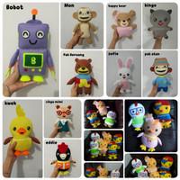 Boneka Flanel Handmade Didi And Friends uk 24×18cm / Mainan Anak