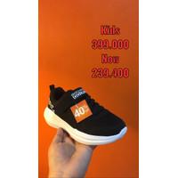 Skechers Go Run Basic Black Kids Sneakers