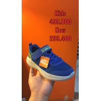 Skechers Go Run Blue Basic Kids Sneakers