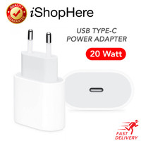 20W Charger USB Type C Adaptor Adapter iPhone iPad iPod Original Apple