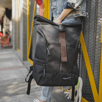 Tas Ransel Backpack Rolltop Theo Black ARCIO x SAKHAPROJECT