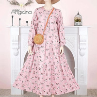 bella dress atelier angelina lamiac Pink size s