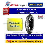 Ban Aspira Maxio Rave 80/80-17 Tubeless Ban Motor (16-80/8017-RAVE)
