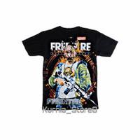 fashion pria fashion anak baju/kaos free fire frontal
