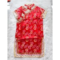 BJ146 - Dress imlek anak balita sincia qibao jibao cewek perempuan