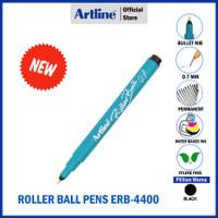 PULPEN ARTLINE ROLLER BALL NIP PERMANENT PEN ERB-4400 - Hitam