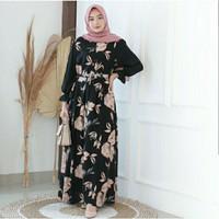 gamis wanita dress muslim wanita baju/ gamis premium