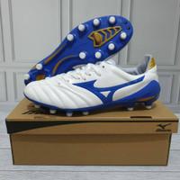 Sepatu Bola Mizuno Morelia Neo 2 White Blue