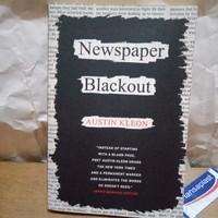 NEWSPAPER Blackout AUSTIN KLEON