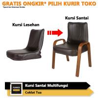 FUNIKA PRIME 22536 CT - Kursi Santai / Bangku Lesehan Tamu - Coklat