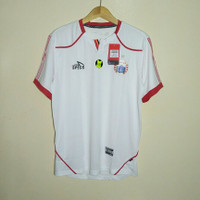 Jersey baju bola Persija away putih 2018 non sponsor original