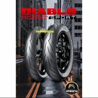 Ban Pirelli Diablo Rosso Sport 110/70-17 Original no battlax michelin