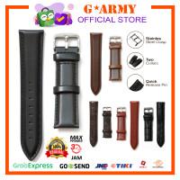 Strap Jam Tangan / Tali Jam Kulit Quick Release Uk 14mm 18mm 20mm 22mm