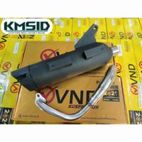 Knalpot Tsukigi VND New Model Beat / Scoopy / Vario 110fi