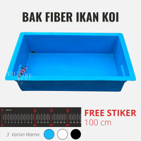 Bak Ukur Koi Fiber 100 cm