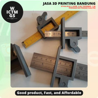 Alat Bantu Penanda Penggaris Marking Gauge 3D Print Bandung WICTMGS