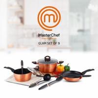 Panci Set Anti Lengket Master Chef Glam set of 9