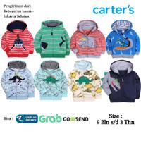 CARTERS Baju Jaket Anak Bayi Perempuan Hoodie 2 - Jaket Anak Bayi Laki