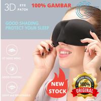 Original 3D Sleeping Eye Mask Blackout Blindfold - Penutup Mata Import