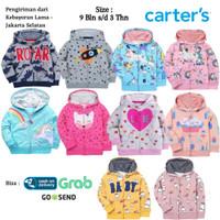 CARTERS Baju Jaket Anak Bayi Perempuan Hoodie 3 - Jaket Anak Bayi Laki