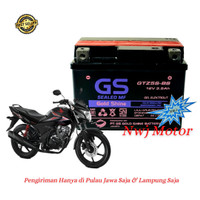 Aki Motor Honda Verza 150 Mega Pro CW GTZ5S GTZ4V GS MF Accu Kering