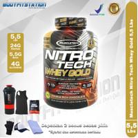 Muscletech Nitro Tech Whey Gold 5.5 Lbs / 5 5,5 6 isolate lb nitrotech