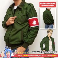 Jaket Anime Shingeki no Kyojin SNK Attack On Titan AOT Porco Galliard