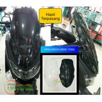 Windshield / Visor Yamaha NMAX Modish Model Tinggi Aksesoris Motor