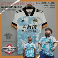Jersey Baju Futsal Sepak Bola Grade Ori Wolverhampton Cowok Cewek Ori