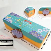 Dus /Kotak Kue Idul Fitri Bolgul/Lapis Gulung/Kue Lapis 8x8x25cm