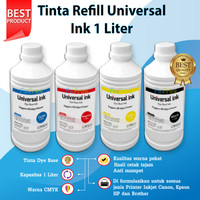 Tinta Refill 1 Liter Jerigen Printer Canon iP2770 MP287 MP237 MP258