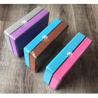 Balok Yoga Murah Double Warna/Block Foam Yoga New/Yoga Brick Kombinasi