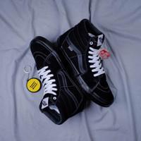Sepatu Vans Sk8 Hi Classic Pro Skate Black BNIB Original Premium