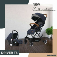 (BabyClubItcBsd) Stroller Babydoes Driver TS Travel System