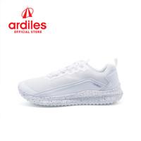 Ardiles Men Centurion Sepatu Running - Putih - Putih, 43
