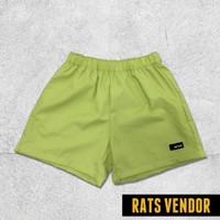Boxer Pria Celana Tidur Pria Rats Vendor Warna Hijau Melon