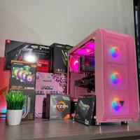 PC RAKITAN RYZEN5 GAMING DAN MULTIMEDIA READY STOCK