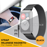 Strap Bracelet Milanese Magnetic Loop Metal For Huawei Watch fit