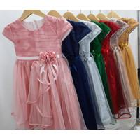 Gaun pesta anak / dress anak perempuan / dress princess 2 - 10 tahun